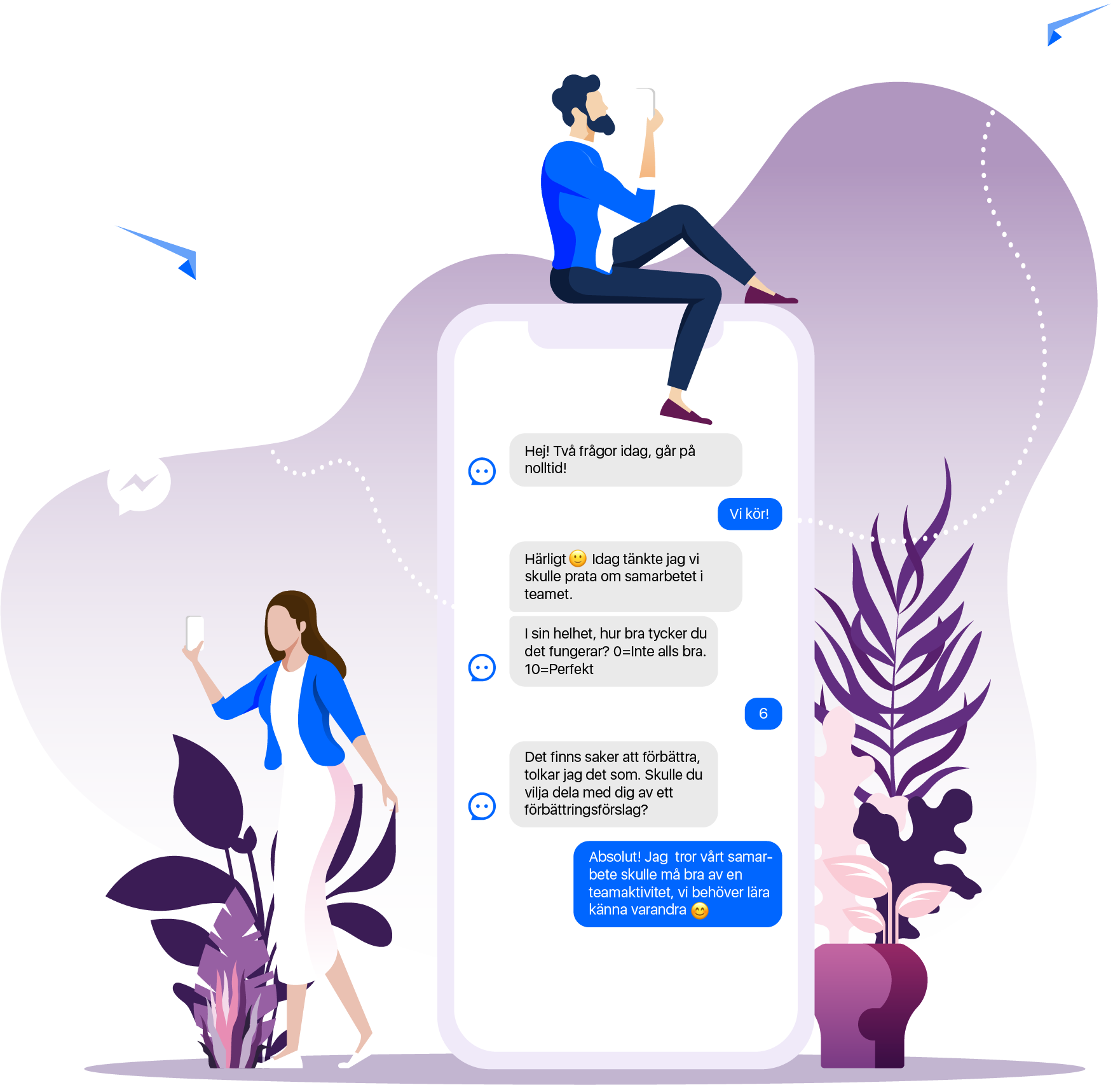 Flourish i Messenger