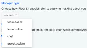 Manager Type i Flourish Dashboard
