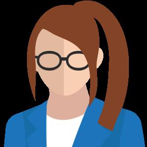 Figur team leader kvinna