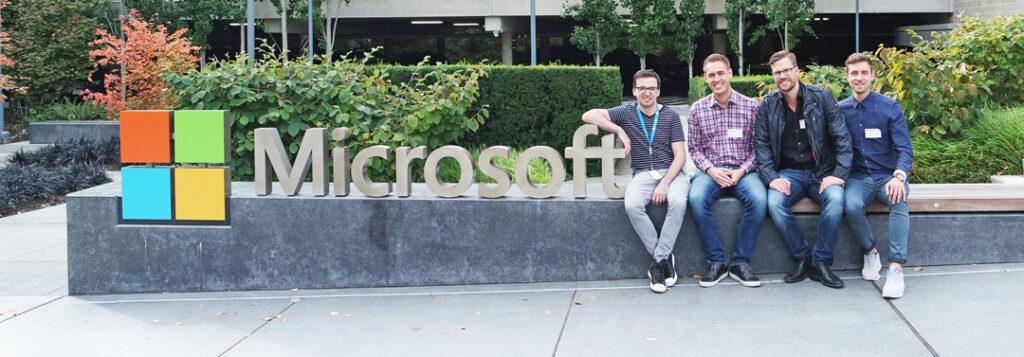 Mårten utanför Microsoft